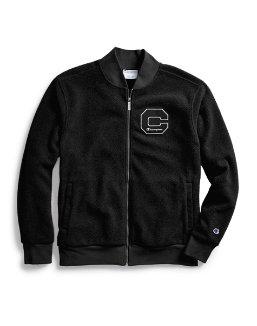 Champion Men's Heritage Sherpa Jacket, Felt Block C Logo men Champion
