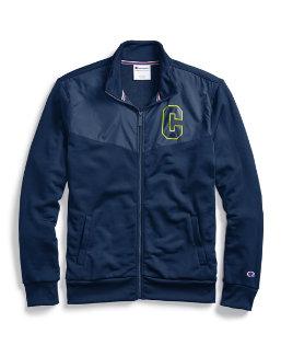 Champion Men's Warm Up Jacket, Block C Logo men Champion