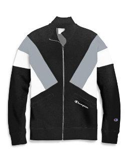 Champion Life® Men's Reverse Weave® Colorblock Track Jacket, Script Logo men Champion
