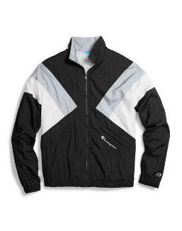Champion Life® Men's Nylon Warm Up Jacket men Champion