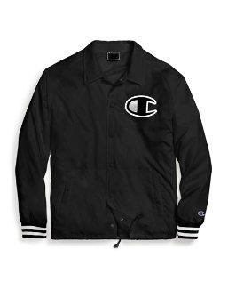 Champion Life® Men's Satin Coaches Jacket, Big C Logo men Champion