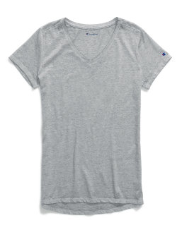 Champion Women's Authentic Wash V-Neck Tee women Champion