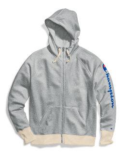 Champion Women's Powerblend® Zip Hoodie, Vertical Logo women Champion