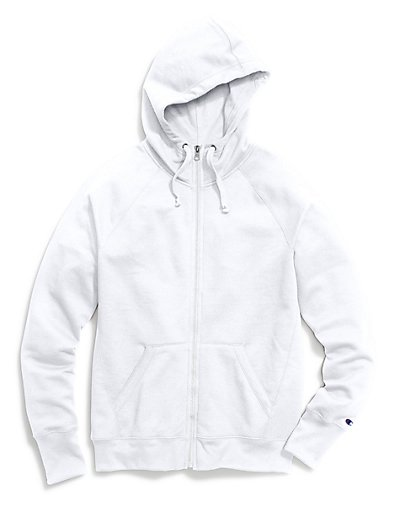 Champion Women's Fleece Full Zip Hoodie - W0933
