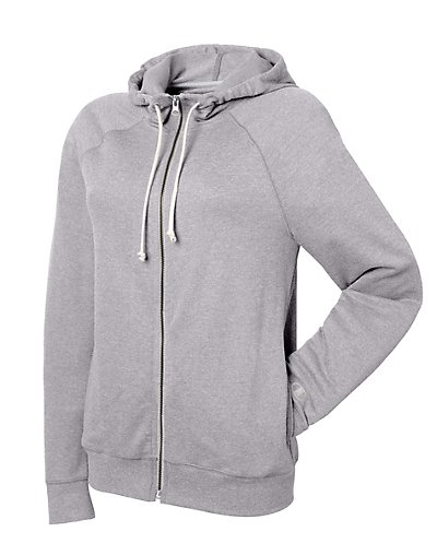 Champion Women's French Terry Full Zip Hoodie - W0941