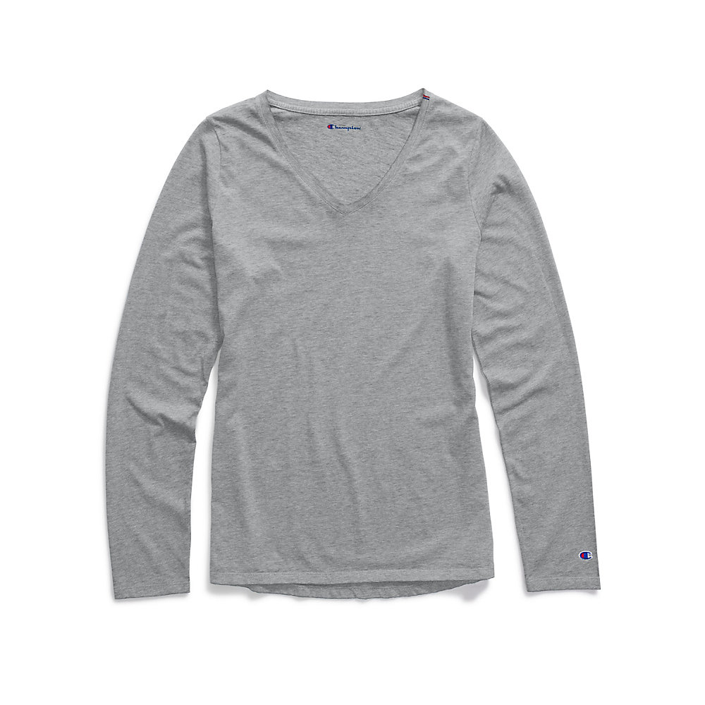 Champion Women Authentic Wash Long Sleeve Tee