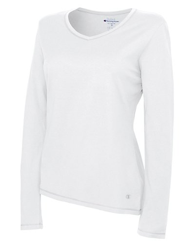 Champion Authentic Women's Jersey Long Sleeve Tee - W8037