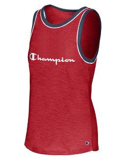 Champion Women's Heritage Ringer Tank-Classic Champion Script women Champion