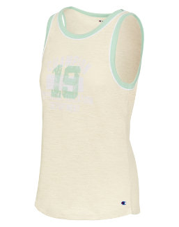 Champion Women's Heritage Ringer Tank-Champion Phys Ed Dept women Champion