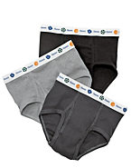 Boy's Toddler Dyed Briefs 5-Pack