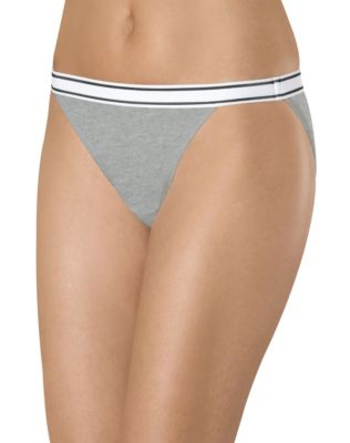 Hanes Women's Sporty String Bikini Panties 3-Pack