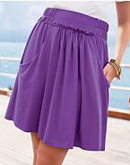 Hanes Signature® Women's Gathered Skirt