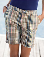 Hanes Signature® Women's Plaid Shorts