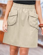 Hanes Signature® Women's Front Pocket Skirt