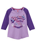 Girls' Girls Team Baseball T