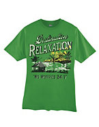 Hanes Beefy-T Destination Relaxation Graphic T-Shirt