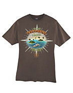 Hanes Beefy-T Get Lost Graphic T-Shirt