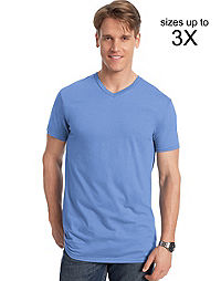 Men's V-Neck T-Shirts From Hanes
