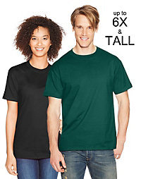 20% off Hanes with a $70+ Purchase of Hanes Products.                                  Hanes Beefy-T Adult Short-Sleeve T-Shirt