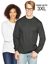 20% off Hanes with a $70+ Purchase of Hanes Products.                                  Hanes Adult Beefy-T Long-Sleeve T-Shirt