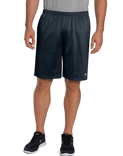 Click here for Champion Long Mesh Men's Shorts with Pockets Navy... prices