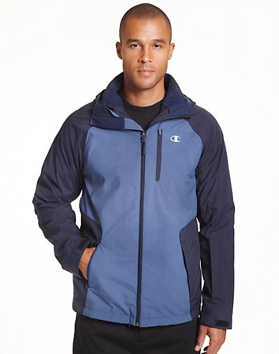 Click here for Champion Mens Technical Ripstop 3 in 1 Jacket With Sweater Fleece Liner Seabottom S prices
