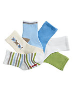 Hanes Boys' Infant/Toddler Crew EZ Sort® Socks 6-Pk