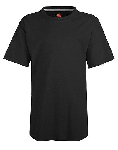 Hanes Kids' X-Temp Performance T-Shirt Black M