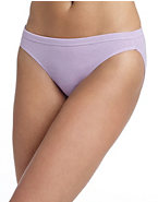 Hanes Women's Cotton Bikini Panties with ComfortSoft® Waistband 3-Pack