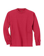 Hanes Youth TAGLESS® Long-Sleeve T-Shirt
