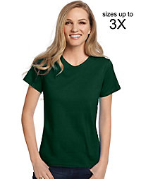 20% off Hanes with a $70+ Purchase of Hanes Products.                                  Hanes Relaxed Fit Women's ComfortSoft® V-neck T-Shirt