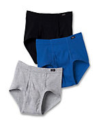 Hanes TAGLESS® Boys' Briefs with ComfortSoft® Waistband 3-Pack