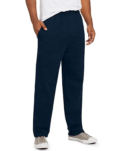 comfortsoft3 ecosmart fleece sweatpants navy