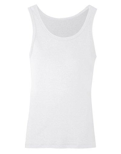 Hanes Girls' Rib Tank White XL