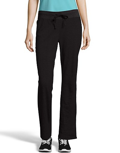 Click here for Hanes Womens French Terry Pant Ebony S prices