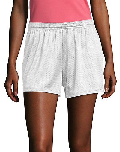 Click here for Hanes Sport3; Womens Mesh Shorts White S prices
