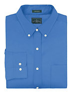 Outer Banks by Hanes Men's Wrinkle-Resistant Poplin Shirt