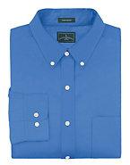 Outer Banks by Hanes Men's Wrinkle-Resistant Poplin Shirt