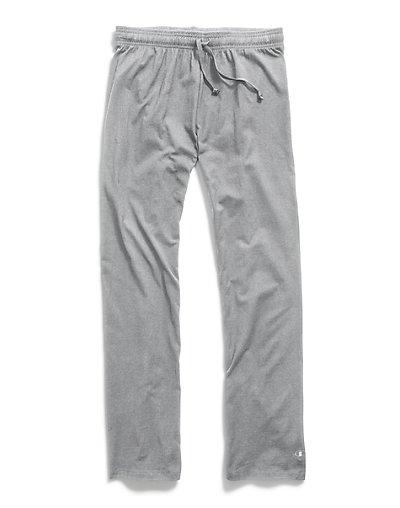 Champion Women's Plus Jersey Pants Oxford Grey 4X