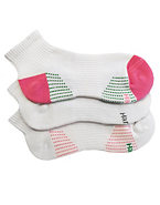 Hanes Women's Ankle Athletic Socks With Arch Support 3-Pack