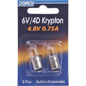 Krypton Repl Bulbs 411663 by Dorcy
