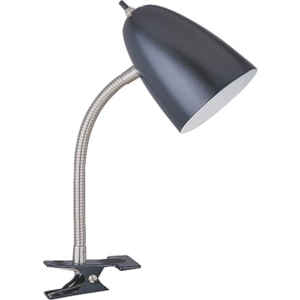 Flexible Clip-On Table Lamp TLCL170BLACK33 by Boston Harbor