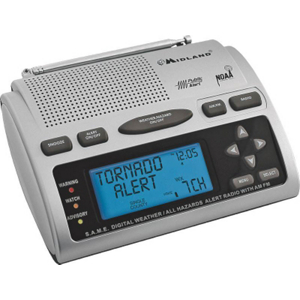 Emergency Weather Radio WR300 by Midland Radio