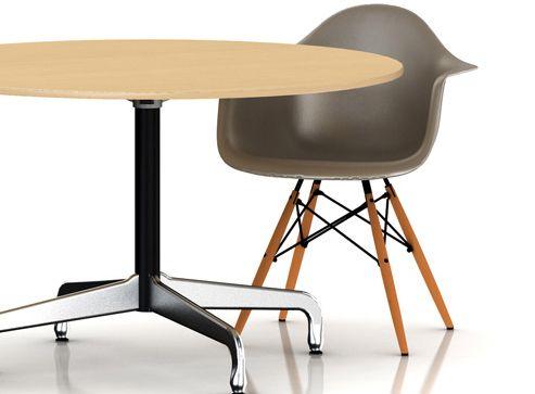 eames table segmented base round dining tables desks tables herman miller official store. Black Bedroom Furniture Sets. Home Design Ideas