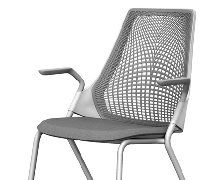 SAYL Side Chair with Stacking Base
