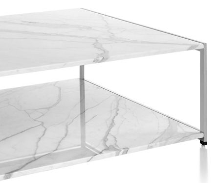 H Frame Coffee Table