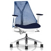SAYL Chair with Blue Back and Seat