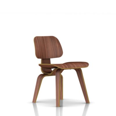 Eames Molded Plywood Dining Chair Wood Base - Lounge  Living