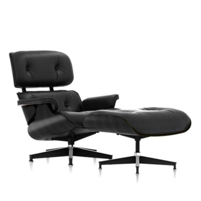 eames lounge chair and ottoman ebony lounge u0026 living chairs herman miller official store - Black Chair