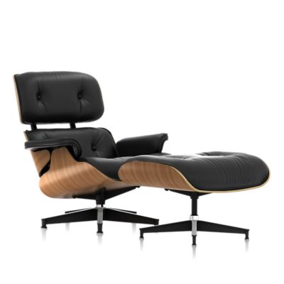 Eames Chair Leather eames lounge chair and ottoman - lounge & living - chairs - herman